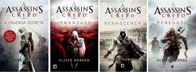 LIVROS: Série Assassin?s Creed ? Oliver Bowden
