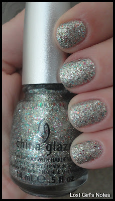 china glaze prismatic ray-diant swatches and review