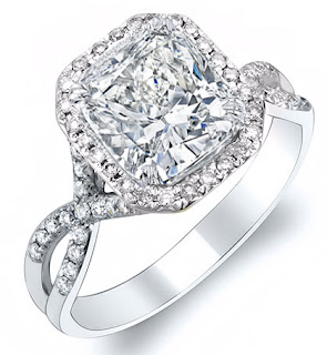 Cushion Cut Diamond Engagement Rings Buying Guide