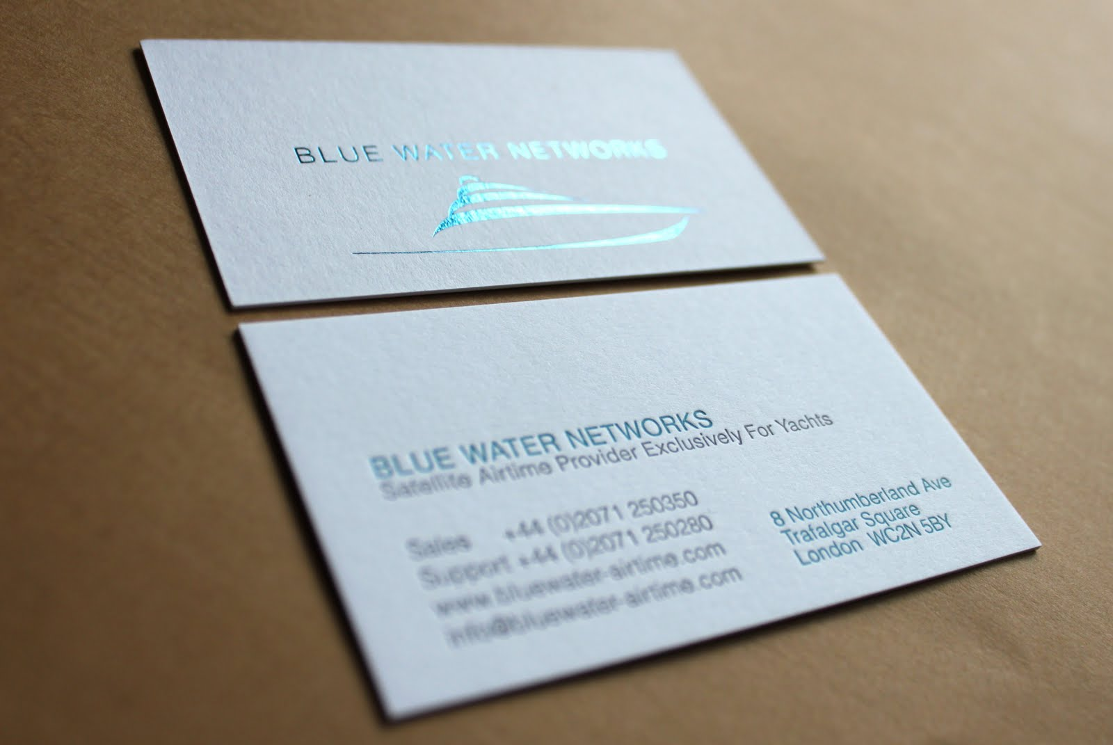 Letterpress printing april 2011 the design is by jane ink and a subtle turquoise foil has been used to give the logo just the right amount of glamour for the mediterranean sunshine reheart Images