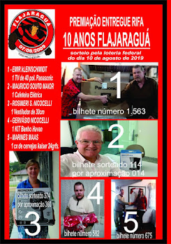 OS GANHADORES DA RIDA!