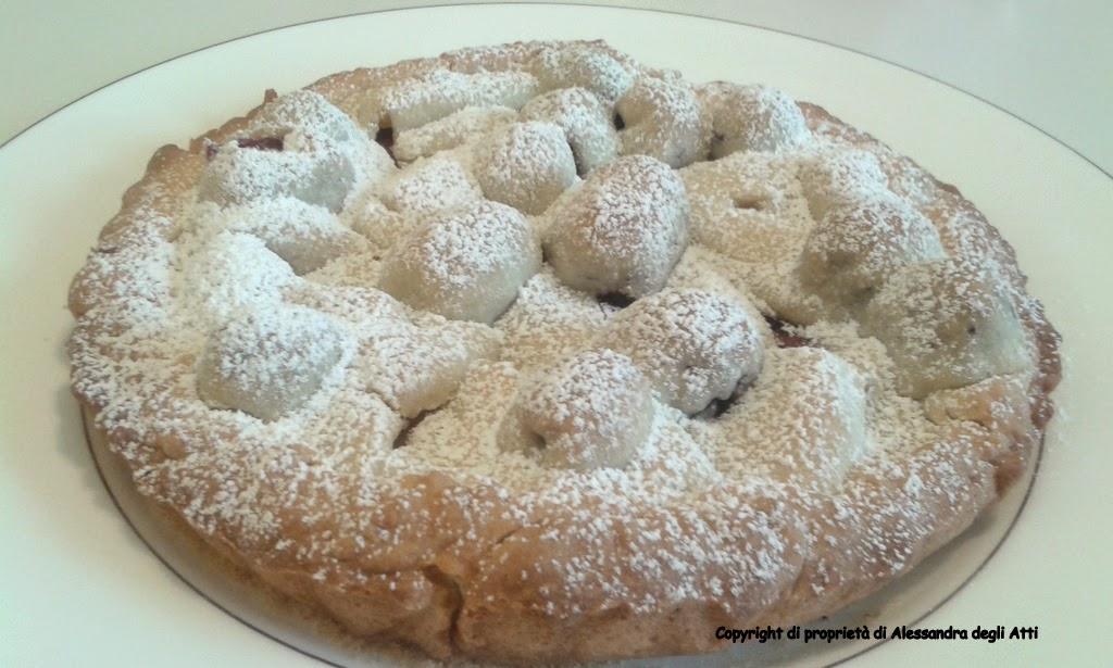 ricetta di dolce alle mele e more