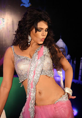 Actress Rakhi Sawant Hot Saree Photos