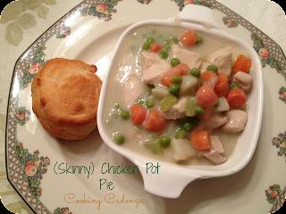 Cooking Cadenza ♫: (Skinny) Chicken Pot Pie