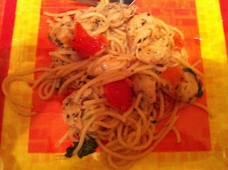 In The Kitchen: Spaghetti with Sauteed Chicken and Grape ...
