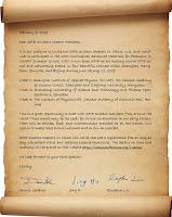 Formal Invitation Letter Sample