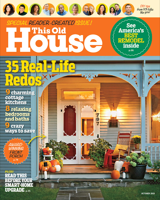 Chic Little House in This Old House Magazine