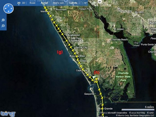 Everglades Challenge 2011 - South Venice to CP 1 at Placida