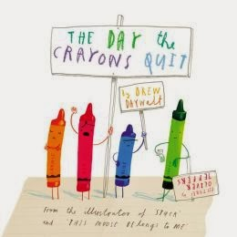 http://www.amazon.com/The-Crayons-Quit-Drew-Daywalt/dp/0399255370/ref=sr_1_1?ie=UTF8&qid=1387403093&sr=8-1&keywords=the+day+the+crayons+quit