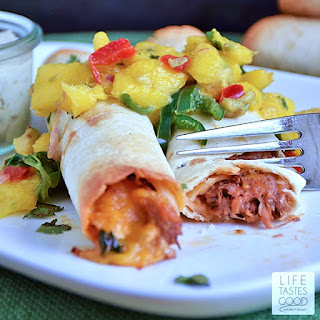 Barbecue Pulled Pork Taquitos | by Life Tastes Good