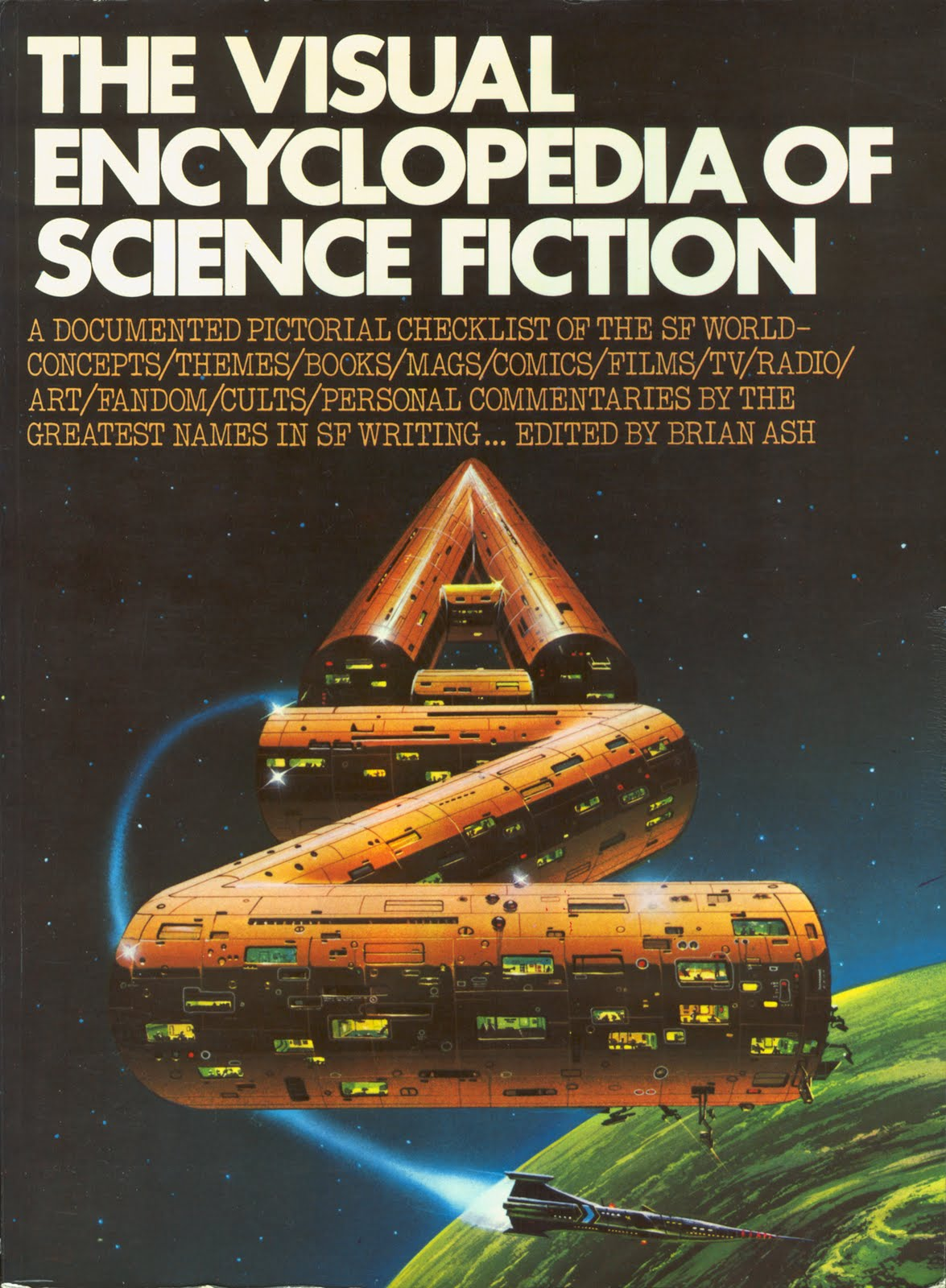 Science Fiction Book Cover Art : Ski ffy the visual encyclopedia of science fiction