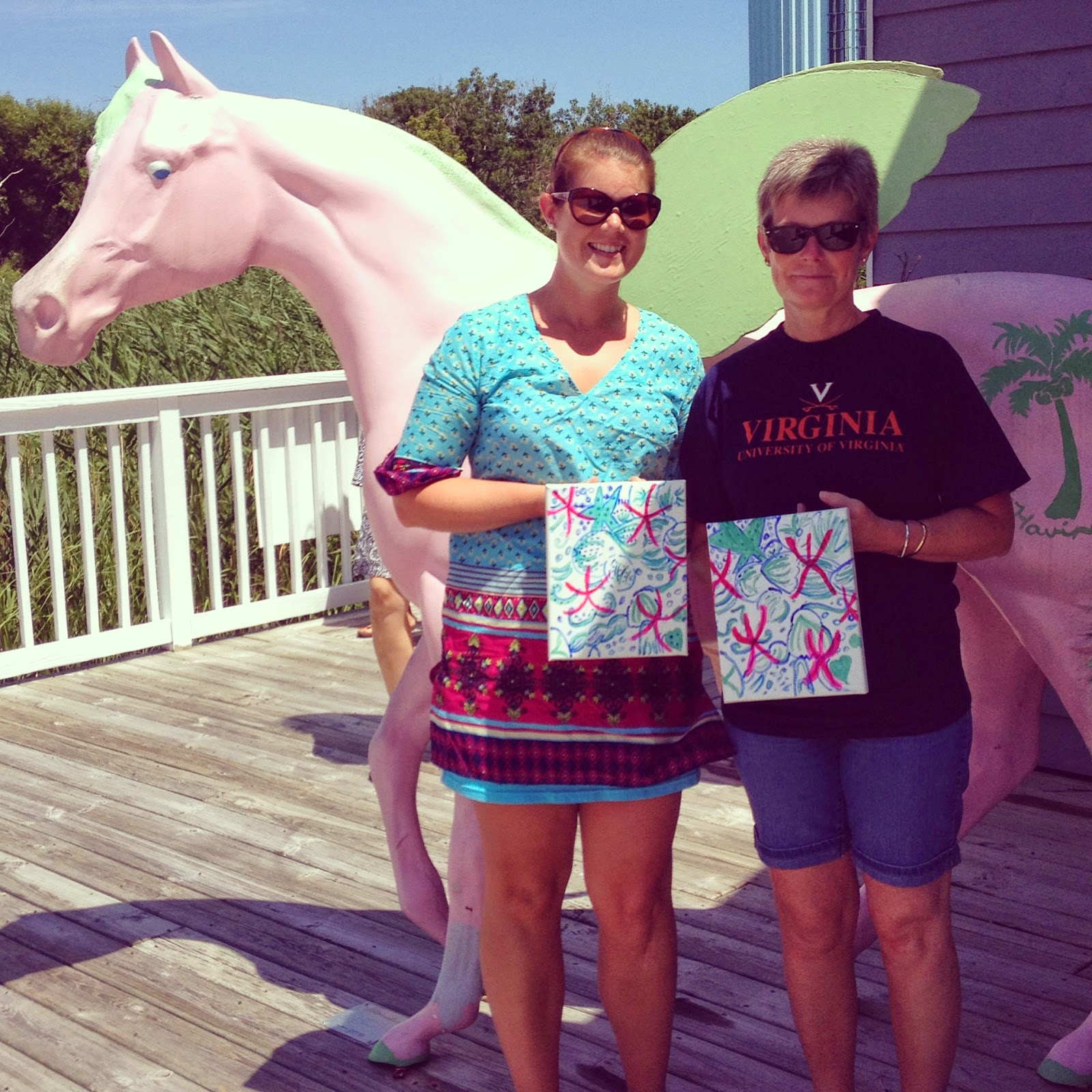Lilly Pulitzer store in Duck NC