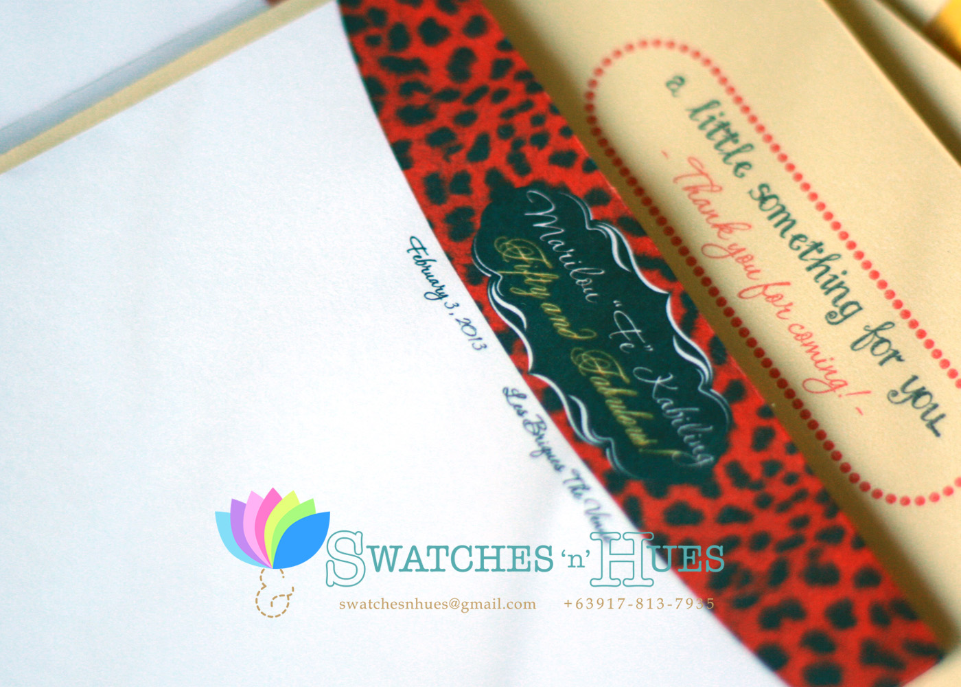 swatches hues handmade with tlc personalized notepads