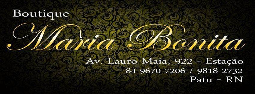 Boutique Maria Bonita