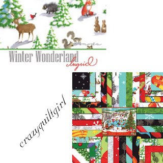 Moda WINTER WONDERLAND Christmas Quilt Fabric by Ingrid Slyder