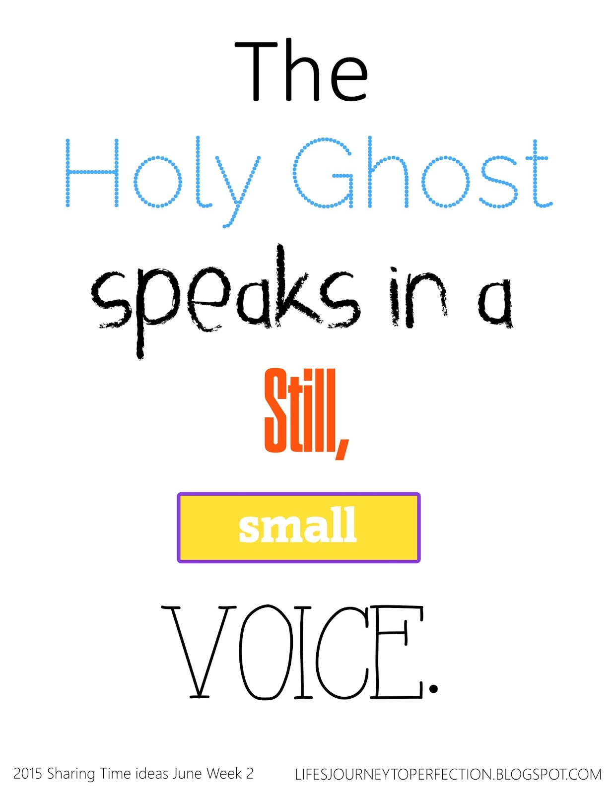 scripture on holy ghost lds | just b.CAUSE