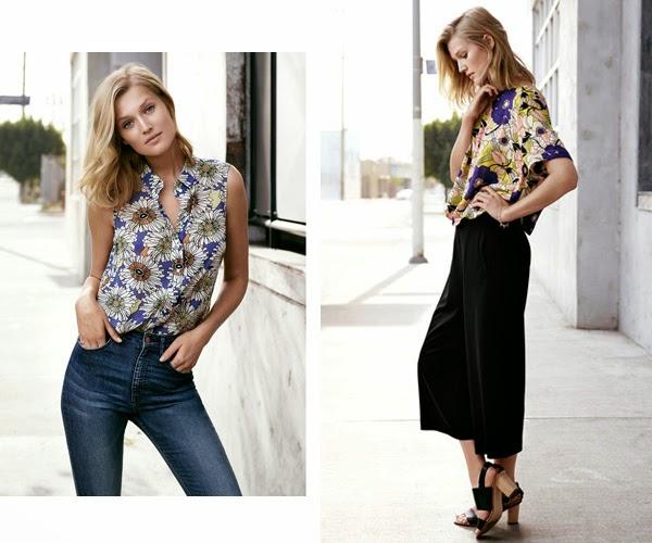 H&M primavera verano 2015 pantalones de moda culottes jeans
