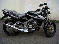 ninja 150 hitam