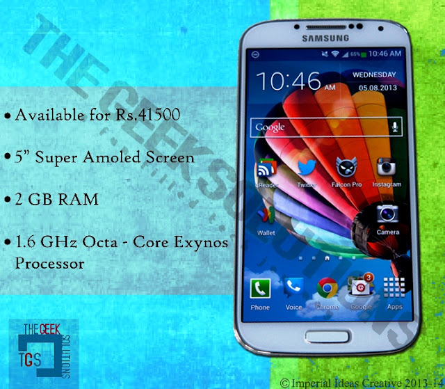 Galaxy S4 Technical Specifications