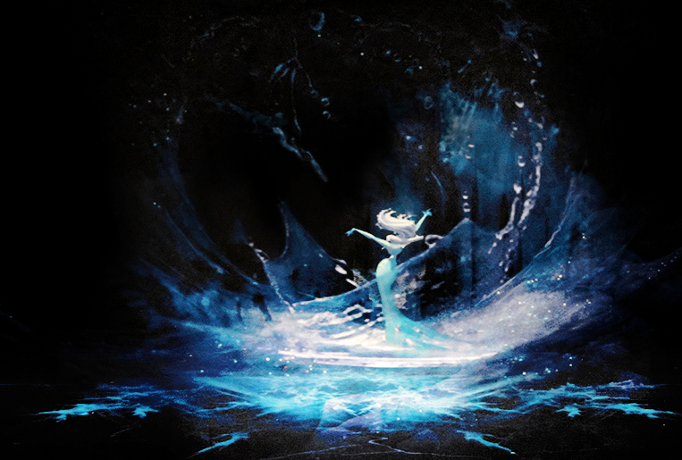 """Once Upon A Blog...: """"Art of Frozen"""" Review by Artist ..."""