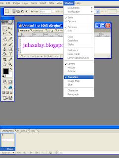 Membuat tulisan Bergerak Dengan Adobe Photoshop