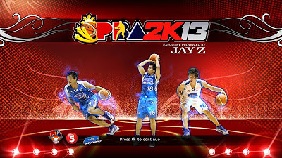 PBA 2K13 James Yap Titlescreen Cover