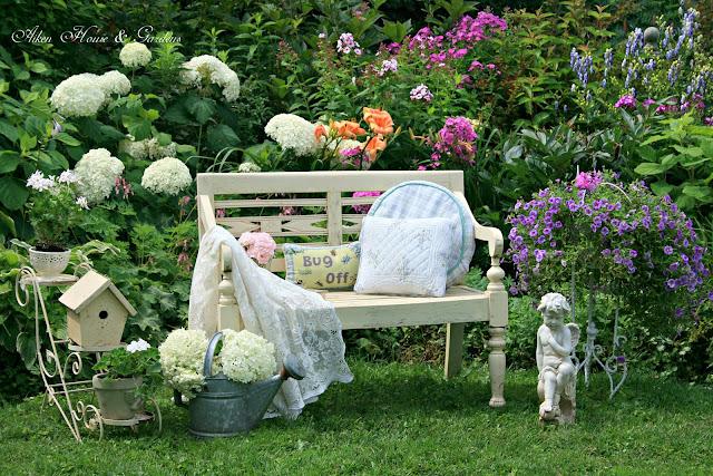 Aiken house gardens our romantic garden for Romantic outdoor decorating ideas