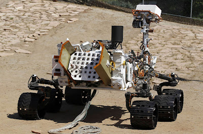 Curiosity Rover Pictures