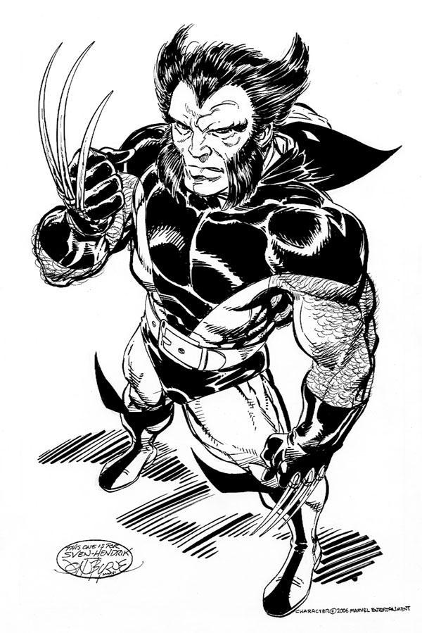 Marvel comics of the 1980s the wolverine week the - Wolverine dessin ...