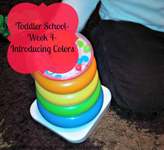 Toddler School - Introducing Colors