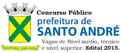 Apostila Concurso Prefeitura de Santo André - Auxiliar Administrativo.