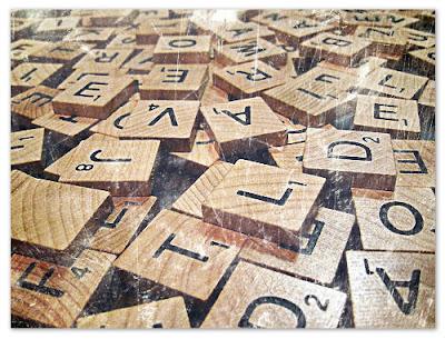 Buchstaben, Scrabble, Spiel