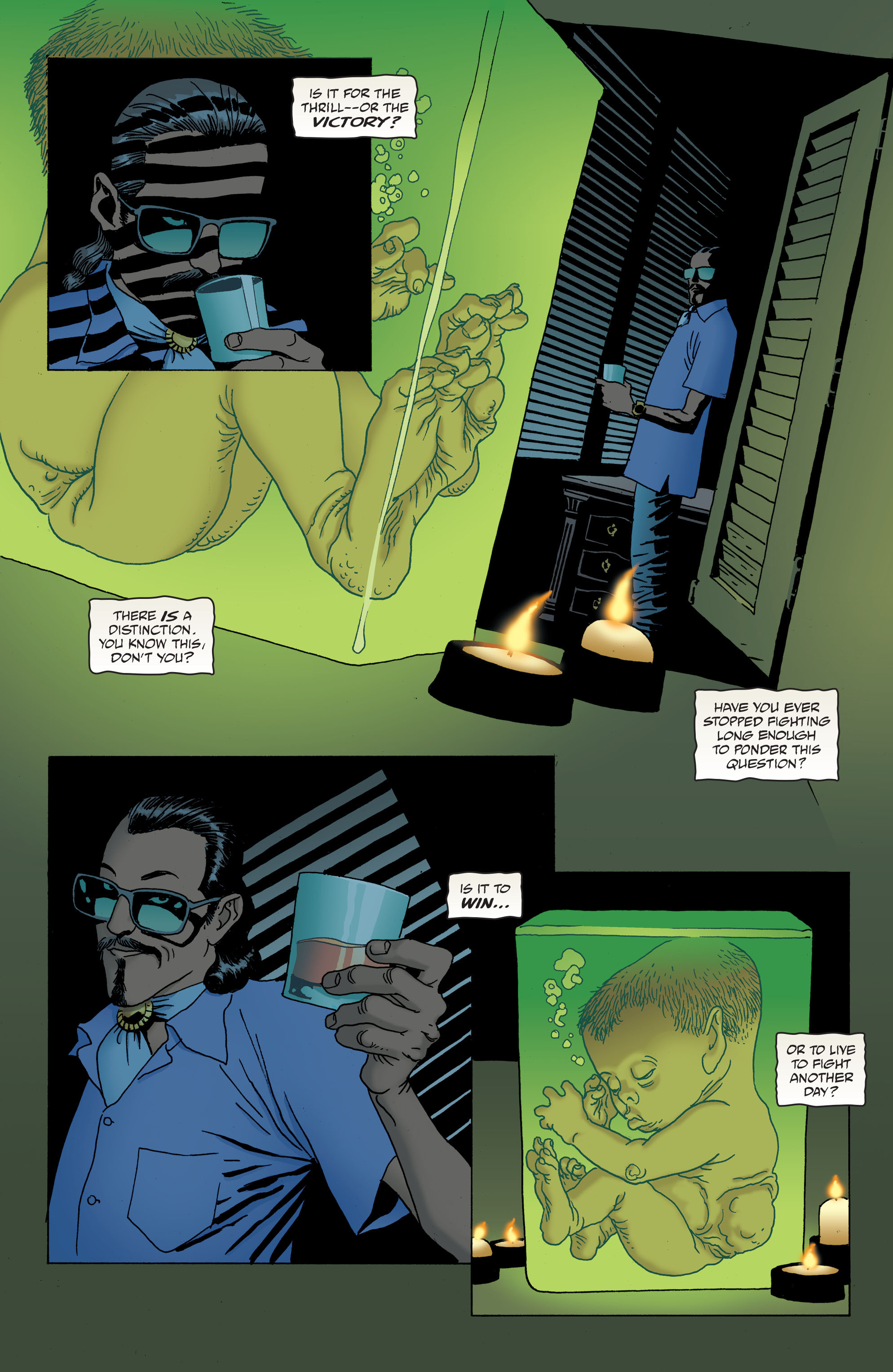 100 Bullets: Brother Lono Full Page 97