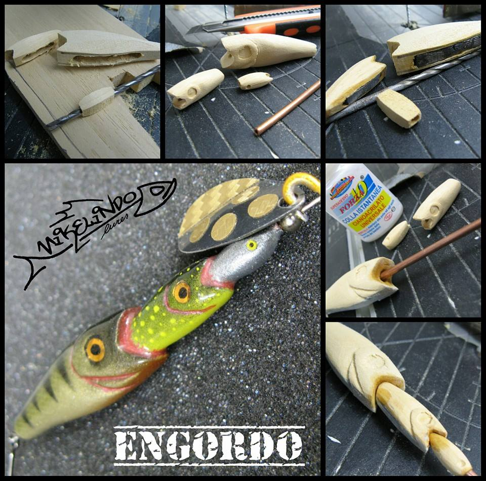 Homemade fishing lure blog mikelindo lures a well framed for Homemade fishing lures