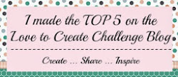 Top 5 Love to create Challenge Blog nº 124