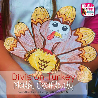Thanksgiving Division craftivity