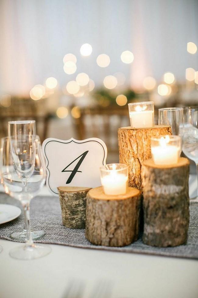 37 fotos de centros de mesa para boda insp rate - Centro de mesa rustico ...