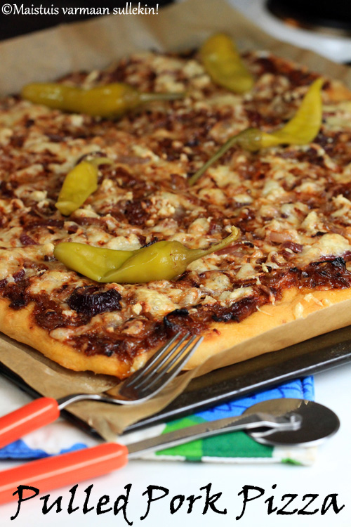 Pulled Pork Pizza