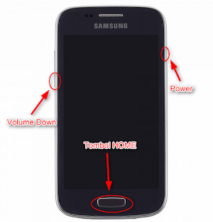Cara Flash Samsung Galaxy Ace 3 GT-S7270