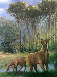 Juan Varilla: El Cuadro de los ciervos