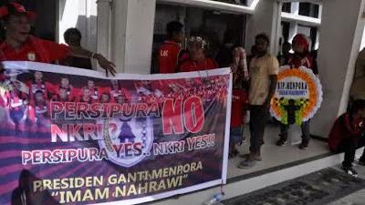 Persipura Mania Minta Jokowi Ganti Menpora, Setelah Persipura Gagal Tanding di Piala AFC