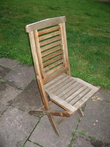 Rparation Chaise En Bois. Excellent Aprs Avoir Trac Les Deux ...
