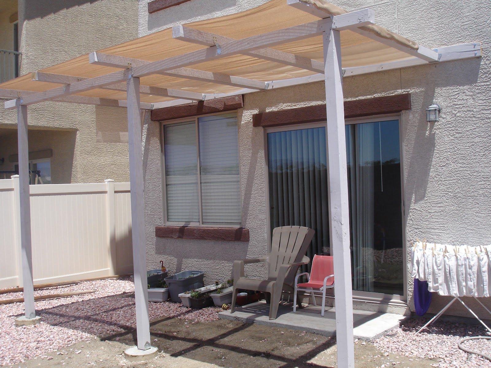 Alex Haralson Update Our DIY Patio Cover