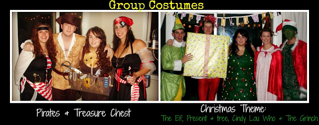 Group costumes, Halloween costumes, themed costumes