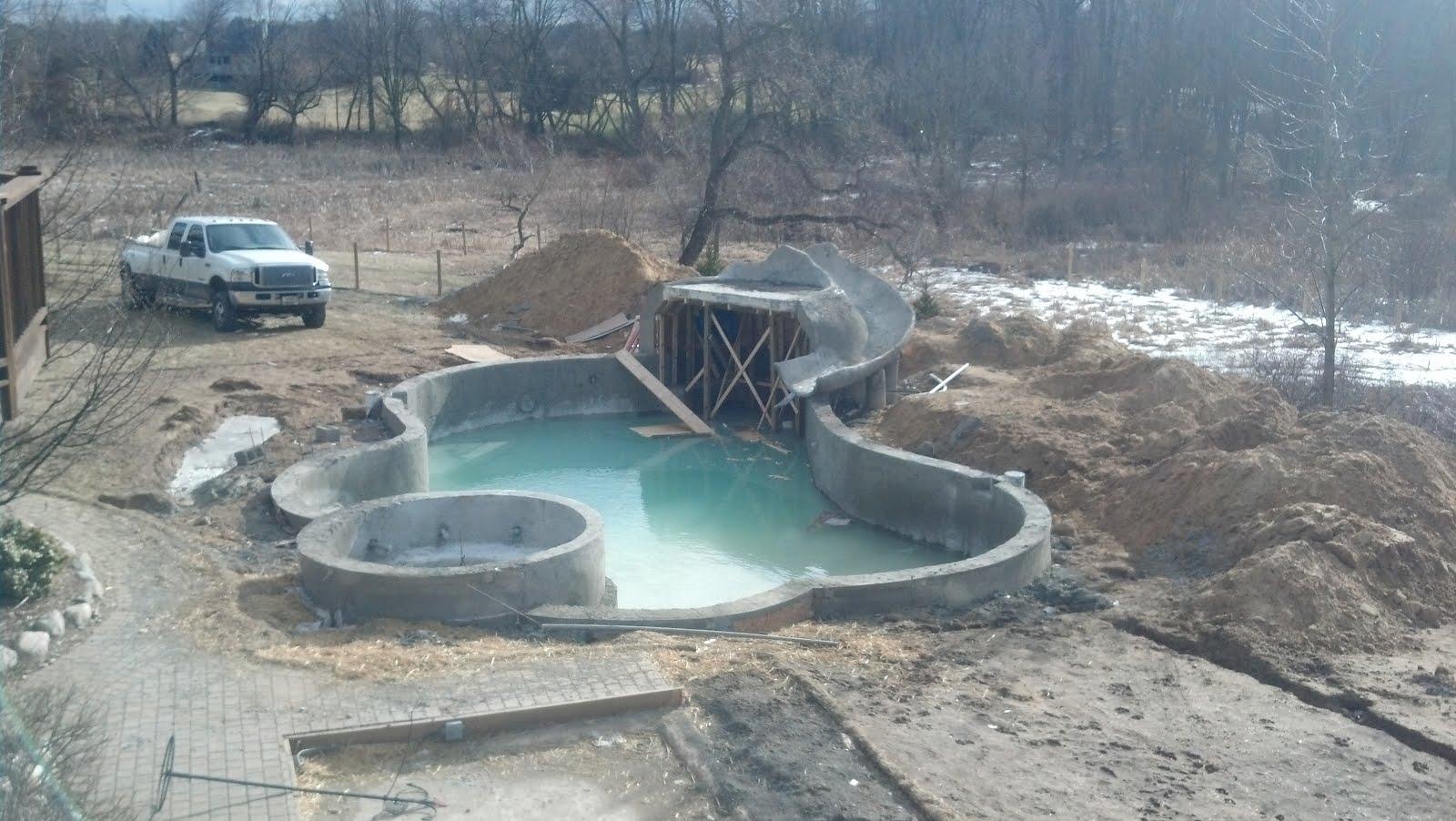 Michigan Shotcrete Gunite Pool Builder