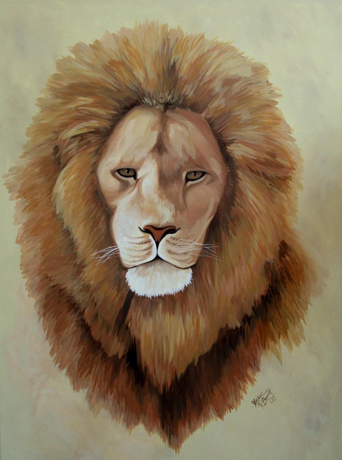 Lion head - photo#2