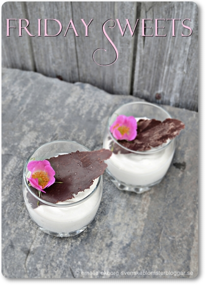 rosenmousse, recept mousse, rosmousse, recept rosor, dessert rosor, rose mousse, recipe rose mousse