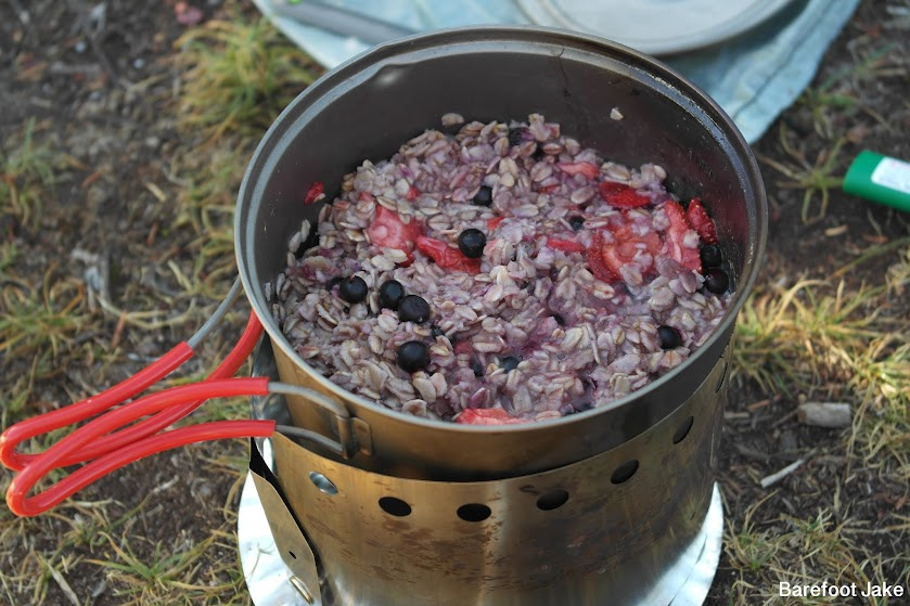 ultralight backpacking meal