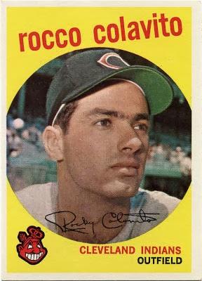 1959 Topps Rocky Colavito