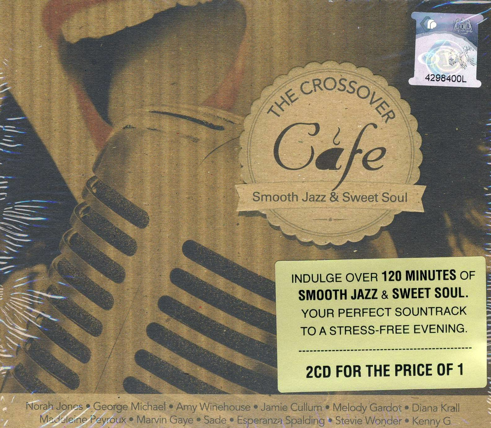 Download [M4A]-[Hit For Songs] 40 Track Smooth Jazz & Sweet Soul – The Crossover Cafe [Solidfiles] 4shared By Pleng-mun.com